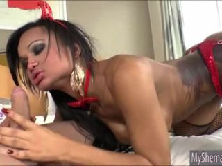Shemale devil andressa lyra anaal pounded