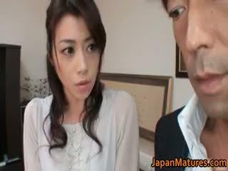 jaapani, group sex, suur rind, küps