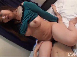 Wonderful blow from cutie