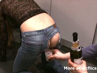 Seks dengan memasukkan tangan saya girlfriends besar sekali gaping bajingan