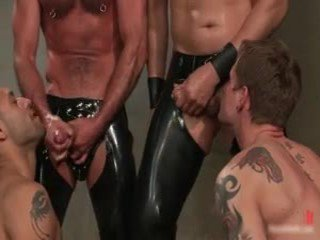 Leo And Trent In Very ExtraorDinary Gay Porn Bondage