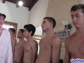 Group Of Horny Guys Gay Bang