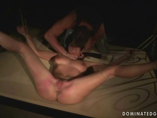 MILF gets tied up and fucked hard