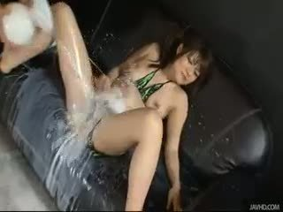 Huwari Is Bound And Her Sweet Pussy Is Teased And Played