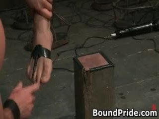 Homosexual Slaves Acquire Electro Therapy From Their Masters 4 By Boundpride