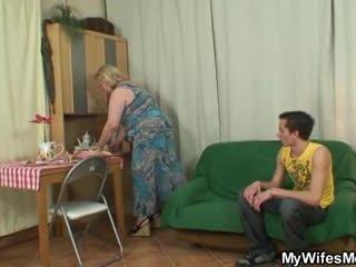 régi, nagymama, nagyi, botrány
