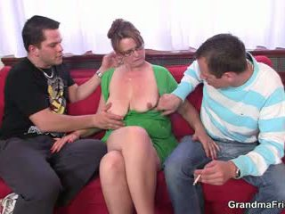 ideal old, hot 3some real, grandma any