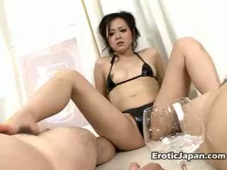 Ultra Sexy Japan Doll In Tiny Lingerie Rui Natsukawa Gives