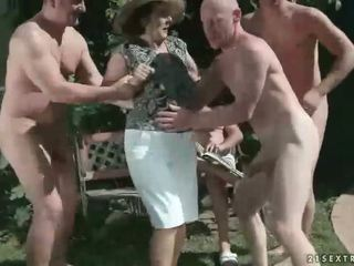 pissing, granny, fetish