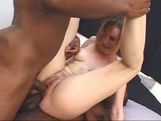 Yüze sikiş nemfomanyak gets screwed tarafından two büyük bbw metres cocks