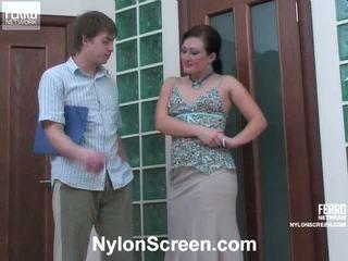 Gwendolen arthur nghịch ngợm nylon hành động