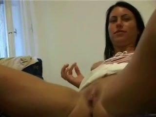 Polish GF with big natural tits fucking on camera