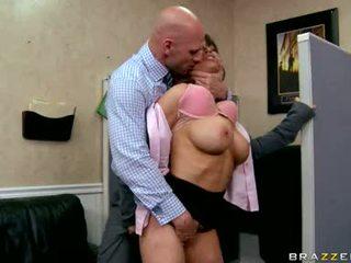 Devon michaels držet the kohout a dělat výstřik intercourse