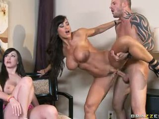Scorching Wild Lisa Ann Receives Her Pussy Rammed Hard And Unfathomable Until She Cums