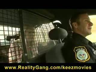 Heather starlet - quente & hooters loira jovem grávida hitchhiker puta picked-up & fodido por policial