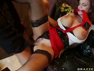 Mature Deauxma Squirting And Anal Fucking Video