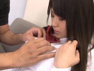 Naked Asian Schoolgirl Have Dick Sucked Off