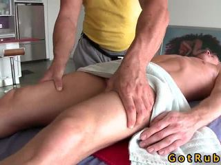 Blondin cutie bonks hans massagen dom