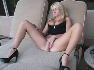 sexy hq, grand chaud plus, vérifier blond