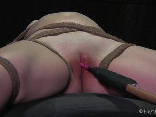Extreme bondage and sadistic treatment