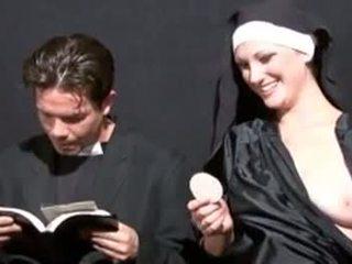 pissing, výstrek, fetiš, nun