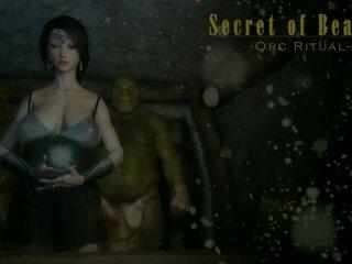 3d animated mädchen fick orcs