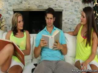 ฟรี สีน้ำตาล ดีที่สุด, มากที่สุด ความจริง, ใด threesome ทั้งหมด
