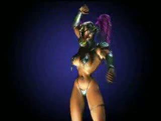 Animated ダンス 女王