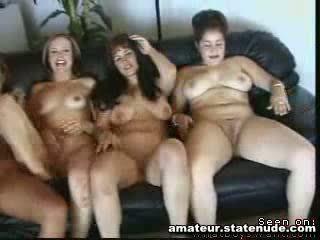 Lesbian Group Orgy