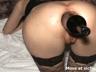 Nemen silit fisting and botol fucked slut