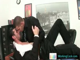 Amazing Gay Hunks Fucking And Sucking In Office