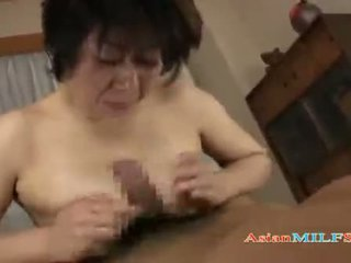 Busty Mature Woman Getting Her Tits And Hairy Pussy Fucked By Guy Cum To Mouth On The Mattress