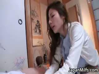 Anri Suzuki Hot Kinky Asian Milf Part4