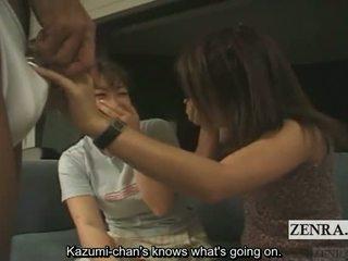 Subtitled cfnm japonské amatérske penis show v hawaii