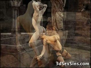 3d зомбі fucks lara croft!
