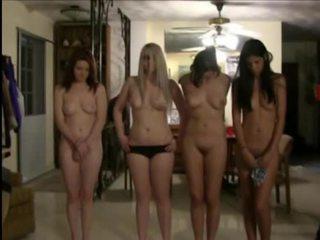 เซ็กซี่ วิทยาลัย สาว ต้องการ ไปยัง กลายเป็น ร้อน ชมรมผู้หญิง sluts และ มี เลสเบี้ยน เพศ ไปยัง ทำ มัน เกิดขึ้น