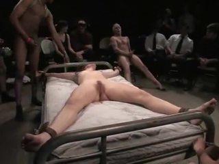 Bondaged baben gets misshandlade