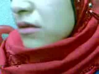 Mėgėjiškas arab hijab moteris baigimas viduje video