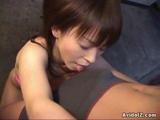 blow službo, fun japonski real, novo blowjob koli