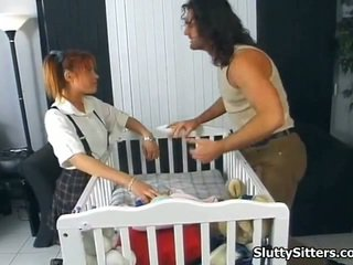 Babysitter Likes To Be Twin Fucked