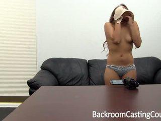 Kolledž cutie esimene anaal & ambush creampie osade andmine