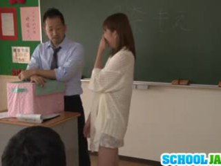 Japanese teen Moe Tsukina