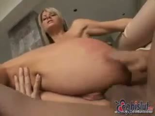 Teen holes stretched