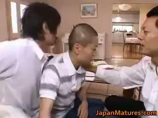 Miki sato prawdziwy azjatyckie matka part1