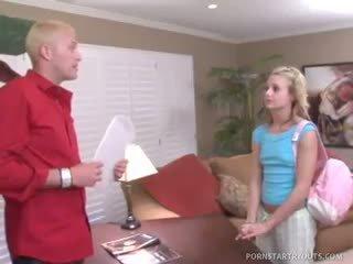 Will Powers Strips Schoolgirl Nikki Hilton To Fuck Her Twat