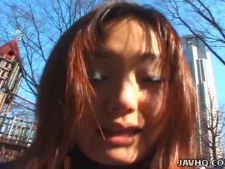 School Roof And Misa Kashiwagi Meet To Fuck