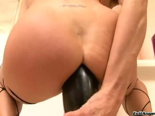 Cecilia Vega Receives This Toy Shoved Up This Chabr Brown Eye