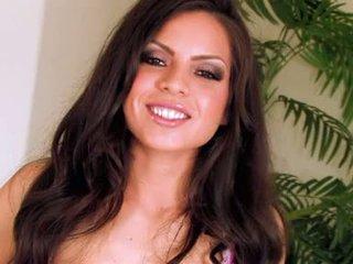 mới brunette mới, vui vẻ dưa đẹp, nhất bộ ngực to hơn