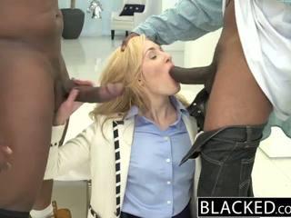 Blacked 2 stor svart dicks för rikt vit flicka