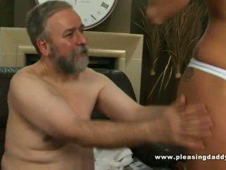 হার্ডকোর সেক্স, পুরোনো, blowjob, ছোট tits